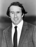 Ex-motor racing champ Jackie Stewart in Belfast, February 1986.