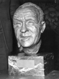 Bust of Bill Shankly, July 1973.