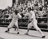 Olympic Fencing win for Britain, 10 August 1948.