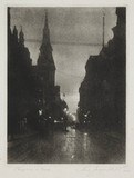 'Cheapside at Dark', 1914.