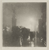 'The Griffin, Fleet Street - Night', c 1926.
