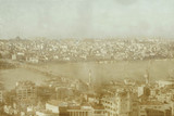 The Ataturk Bridge seen from the Galata Tower, Istanbul, c 2004.