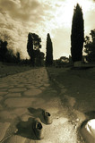 The Appian Way, (Via Appia Antica), Rome, 2004.