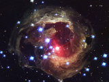 The star V838 Monocerotis, c 2005.