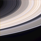 Saturn's rings, 21 June 2004.