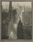 'Fifth Avenue, from the St Regis', New York, c 1910.