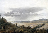 Landscape and cloud study by Luke Howard, c 1808-1811.