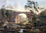 'View of Tanfield Arch in the County of Durham', c 1811.