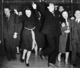 Jitterbug dancing, 13 March 1939. 'The Jitt