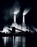 Battersea Power Station, London, 3 January 1956.