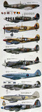 """Supermarine Spitfire fighters, 1939-1950."""
