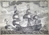HMS 'Sovereign of the Seas', 1637.
