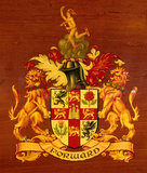 Coat of arms of the London and North Eastern Railway.