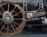 Detail of Stephenson's 'Rocket', 1829.