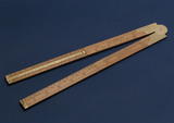 Carpenter's slide rule, 1825-1860.