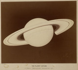 The planet Saturn, September 1875.