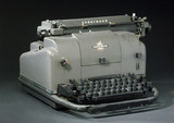 Underwood electric typewriter, c 1950.