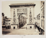 'Porte St Denis', Paris, c 1865.