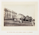 'The Victoria Hotel, And Dorman's Library, St Leonards', 1864.