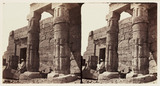 'The Temple of Errebek, Thebes', 1859.