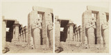 'Osiride Columns of the Memnonium, Thebes', 1859.