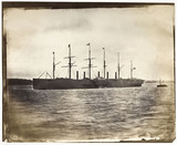 SS 'Great Eastern' leaving Liverpool for New York, 26 March 1867.