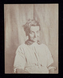 Portrait of a patient, Surrey County Asylum, c 1852.