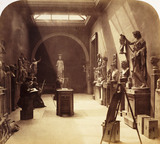 'British Museum Gallery of Antiquities', c 1857.