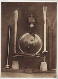 Helmet, shields and swords, Madras Exhibition, 1857.
