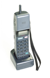 Mobile cellular telephone model CM-H333 by Sony, c.1990's.