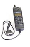 Mobile cellular telephone model SH 888 by Ericsson, 1998.