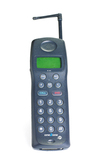 Mobile cellular telephone model M200 by Siemens AG, c. 1990s.