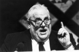 Cyril Smith, British politician, c 1980s.