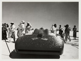 'Bluebird', Bonneville Salt Flats, Utah, USA, 1935.