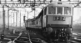 First electric passenger train from London to Liverpool, November 1965.