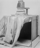 """Sir Joshua Reynolds's camera obscura, c 1760-1780. """