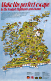 """'Make the perfect escape to the Scottish Highlands and Islands', poster, 1985."""
