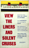 """'View the Liners and Solent Cruises', 1976."""