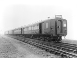 """Electric 5-car train bound for Manchester, 23 March 1925. """