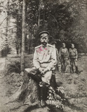 """Tsar Nicholas II just before he was shot, Ekaterinburg, Russia, July 1918. """