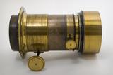 """Camera lens which reputedly belonged to Julia Margaret Cameron, c 1860. """
