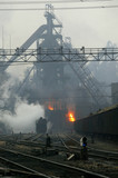 Handan steelworks, Hebei province, China, 2003