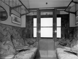 Third class coach No.1347, with cross corridors, 1945.