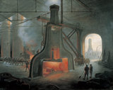 'A Steam Hammer at Work', 1871.