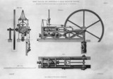 High presure stationary steam engine, c 1826.