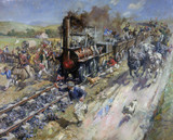 'The Opening of the Stockton & Darlington Railway', 1825.