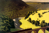'Train crossing Monsal Dale Viaduct', 1923-1947.