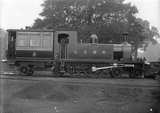 London and South Western Railway (L&SWR) class F9 4-2-4T inspection saloon no. 733, September 1904.