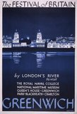 Publicity for Greenwich, in association with the Festival of Britain,  1951