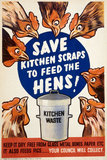Save Kitchen Scraps to Fee the Hens